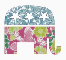 Lily Pulitzer Republican Elephant by mreedd