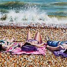 Sea Spray and Sun Cream by Paula Oakley