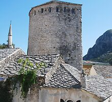 Buildings in Mostar by jojobob