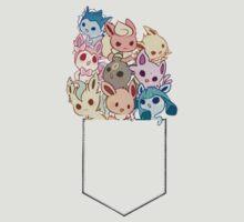 Pocket O Evee's by ruri0san