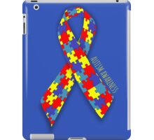 Autism Awareness Ribbon iPad Case/Skin