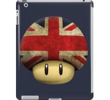 Union jack Mario's mushroom iPad Case/Skin