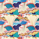 pattern with mushrooms  by Tanor