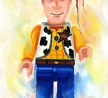 Woody - Toystory by Deborah Cauchi
