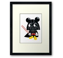 Darth Mickey Framed Print