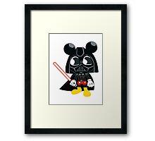 Darth Mickey Framed Print