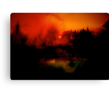 Landscape Hardy...Wessex Tales 2 Canvas Print