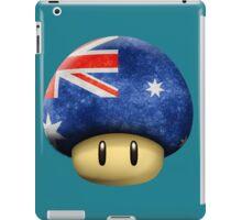 Australia Mario's mushroom iPad Case/Skin