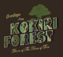 Greetings from Kokiri Forest by Arinesart