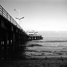 Santa Monica Pier, Dawn by Matthew Walters