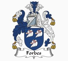 Forbes Coat of Arms / Forbes Family Crest by ScotlandForever