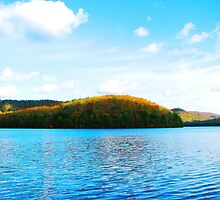 October At The Lake by AngieDavies