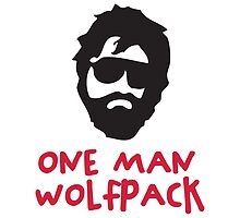 One Man Wolfpack by artpolitic