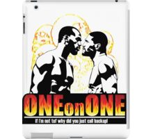 ONE on ONE fighting iPad Case/Skin