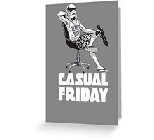 Casual Friday Greeting Card