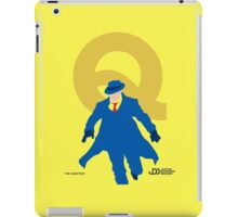 The Question - Superhero Minimalist Alphabet Clothing iPad Case/Skin