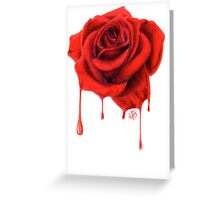 Painting the Roses Red Greeting Card