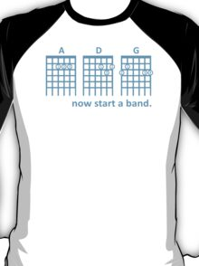 THE OC - Seth Cohen Inspired 'now start a band' T-Shirt