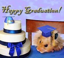 Graduation Hamster by jkartlife