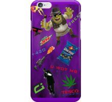 U FOKN WOT M8 MLG Montage Parody iPhone Case/Skin