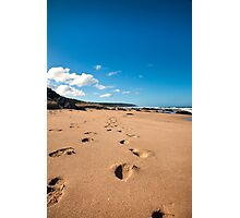 Leave Only Footprints Take Only Memories Photographic Print