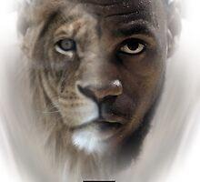 LeBron James 'Lion' Design by AMMSDesigns