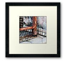{ Corners: where the walls meet #19 } Framed Print