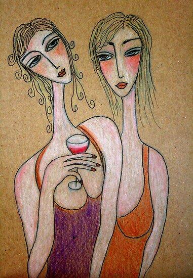 How come we have no boyfriends? by Renate  Dartois