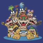 Koopa family by DisfiguredStick
