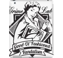 Grime Lab Vandalism iPad Case/Skin