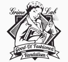 Grime Lab Vandalism by Maestro Hazer