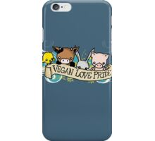 Vegan Love Pride iPhone Case/Skin