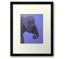 The Curled Trunk Framed Print