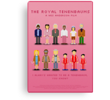The Royal Pixelbaums Canvas Print