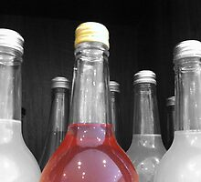 SELECTIVELY COLOURED BOTTLE by Colleen2012