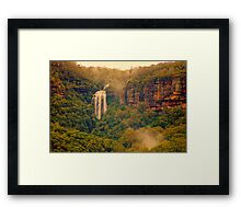 Misty Mountain Hop Framed Print
