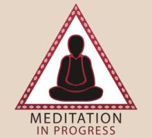 Meditation in progress by Andrei Verner
