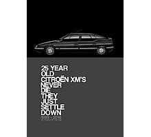 Citroen XM 25th Anniversary Poster Photographic Print