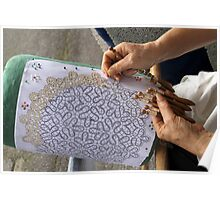 lace making Poster