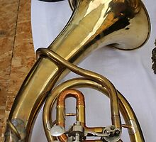 detail of trumpet by spetenfia