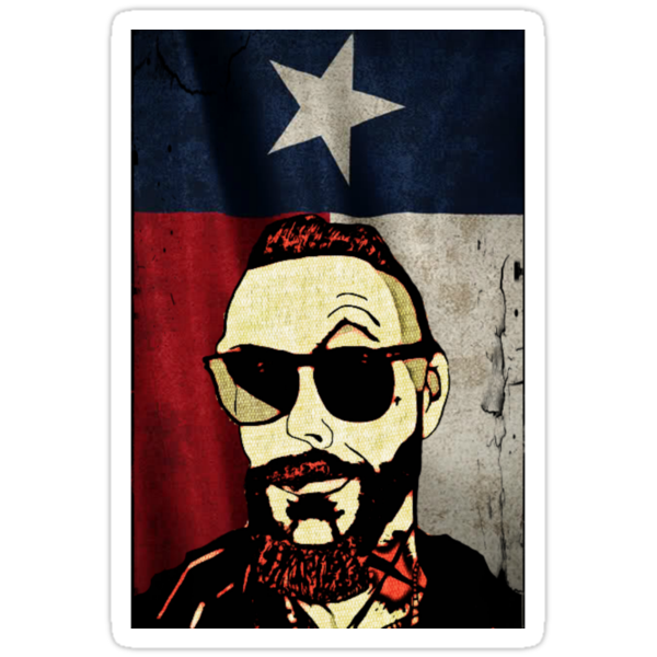 Justin Furstenfeld with Texas Flag by Jason westwood