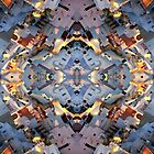Santorini island abstract pattern by mikath