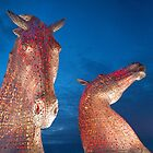 The Kelpies by M.S. Photography & Art