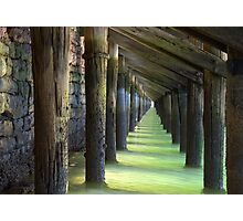 Under the Wharf Photographic Print