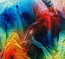 Colorful Abstract Art - Topograffiti - By Sharon Cummings by Sharon Cummings