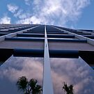 Unisource building, looking up by Linda Sparks