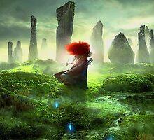 Merida Walking - The Brave (Disney) by Mellark90
