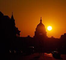 Capitol Hill Sunset  by BravuraMedia