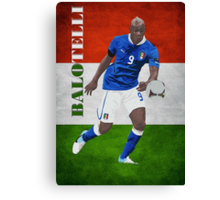 BALOTELLI-ITALIA Canvas Print