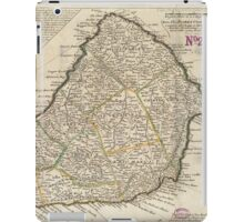 Vintage Map of Barbados (1736)  iPad Case/Skin